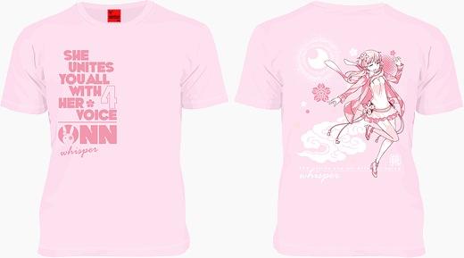 yukari onn t-shirts